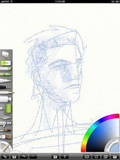 ArtRage for iPad, by Norm Dwyer