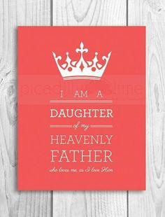 Soy una Hija de mi Padre Celestial