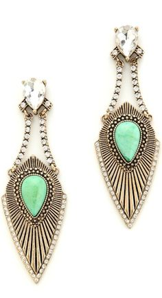 pretty stone drop earrings http://rstyle.me/n/p3bprr9te