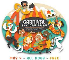 Logo Design: Carnival the Day Away on Behance