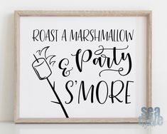 Roast a Marshmallow and Party S'more, Smore Bar, S Taco Bar Wedding, Wedding Signs, Rustic Wedding Bar, Wedding Ideas, Wedding Decor, Wedding Ceremony, Wedding Stuff, Reception, Graduation Party Themes