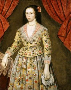 Elizabeth Craven Lady Powis ca. 1622 British School Powis Castle and Garden Powys National Trust 1180922 17th Century Clothing, 17th Century Fashion, 15th Century, Historical Costume, Historical Clothing, Landsknecht, Inspiration Mode, Baroque Fashion, Glamour