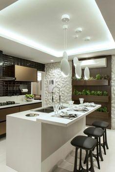 offene küche wohnzimmer abtrennen offene küche mit theke spiegel, Wohnzimmer