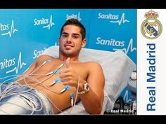 Isco signs his contract with Real Madrid - YouTube