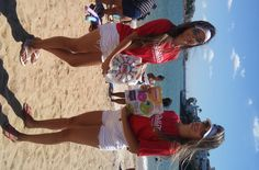 Panfletagem na Praia da Curva da Jurema.