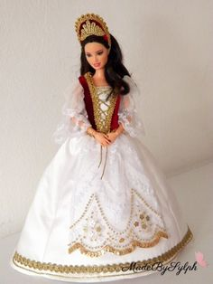 HUngarian Barbie dress