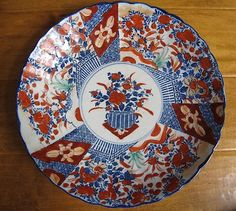 ANTIQUE c1900 JAPANESE IMARI LARGE CHARGER