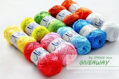 ... the Big Spring Yarn Giveaway will be open for one more day. Have you already entered for your chance to win?