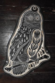Owl for documentary. 2015