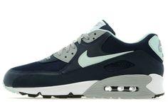 Nike Air Max 90 Essential Navy/Glass Green