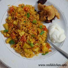 Tawa Pulao #indianstreetfood #pulao #glutenfree #mumbaistreetfood #onepotrecipes #vegetarian #veggies