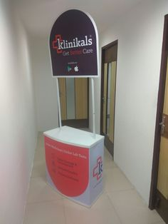 Promotion materials #Table and #kiosk supplies for Klinikals  #BCC #bcc_marcom #promotions #chenai #clinical #hospitals #care #advertising #branding #ad_agency