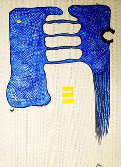 "Saatchi Online Artist ABBA ARTIST; Painting, ""ABACAB"" #art"