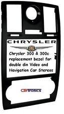 Chrysler 300 Radio Stereo Car Install Double Din Navigation Bezel Black Dash Kit