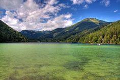 #Erlaufsee mit #Gemeindealpe im Hintergrund