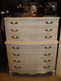 French provincial style dresser