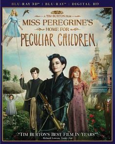 Miss Peregrine's Home for Peculiar Children [Includes Digital Copy] [3D] [Blu-ray] 2016 - Best Buy - http://www.bestbuy.com/site/miss-peregrines-home-for-peculiar-children-includes-digital-copy-3d-blu-ray-blu-ray-blu-ray-3d-2016/5656130.p?skuId=5656130