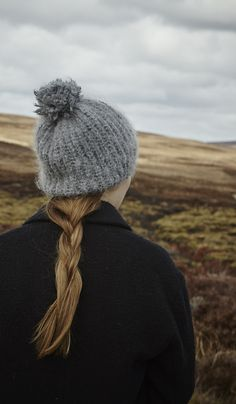 Braid and beanie, the perfect combination.