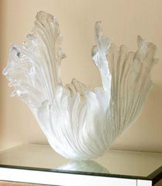 Amanda Brisbane Ice Ribbons Sculpture