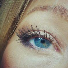 Eyeshadow tutorial for blonde hair blue eyes