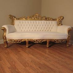 "Fabulous Baroque ""Isabelle"" Louis XVI French Reproduction Exquisite mahogany hand carved sofa"