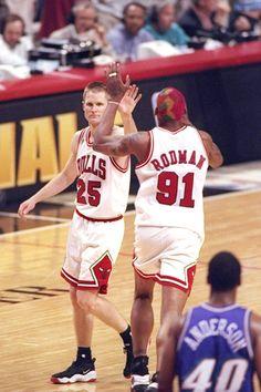 Steve Kerr Dennis Rodman Chicago Bulls Shandon Anderson Utah Jazz