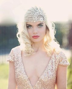 Gatsby inspired: Continuing on from our look at luscious 1920s-style weddings, here's part 2...