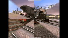 Rail Simulator Official Expansion Pack PC 2008 Gameplay