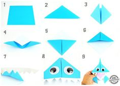 Celebrate Shark Week with This Origami Shark Bookmark