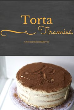 A delicious recipe for tiramisu cake at home a. The taste and texture are perfect. Go ahead and try it. Tiramisu Recipe, Tiramisu Cake, Cake Cookies, Cupcake Cakes, Sweet Recipes, Cake Recipes, Chilean Recipes, Delicious Desserts, Yummy Food