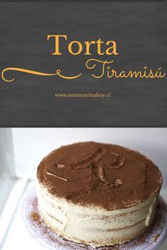 Una deliciosa receta para hacer en casa una torta tiramisú. El sabor y la textura son perfectas. Anímate a probarla.