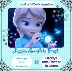 Frozen And Tangled, Disney Princess Frozen, Disney Rapunzel, Disney Names, Disney Girls, Elsa Images, Frozen Photos, Jack Frost And Elsa, Spitting Image