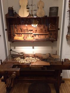 I love handicraft - whether it is violin or furniture. Museum of music history, Budapest.