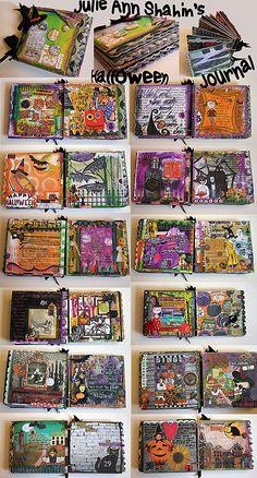 Art Journaling 101: Fall and Halloween Journals with Bonus this Evening! *Updated | Studio Tangie