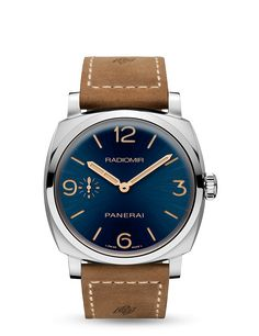 Panerai Radiomir 1940 3 Days Acciaio 47 mm (PAM 690; limited Boutique edition with blue dial)
