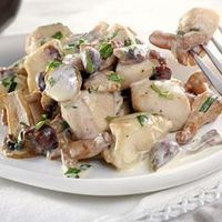 ACTIFRY - Poulet aux champignons et à l'estragon Italian Recipes, New Recipes, Cooking Recipes, Best Chicken Ever, Tefal Actifry, Gluten Free Cooking, Pressure Cooker Recipes, Family Meals, Chicken Recipes