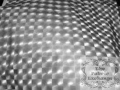 Silver 3-D Hologram Metallic Spandex www.thefabricexchange.com