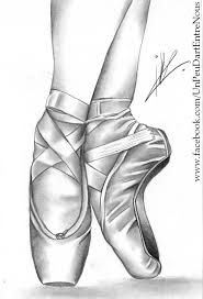 Image result for how to draw a ballerina shoe