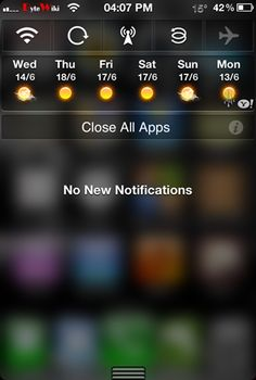 NCSettings – Get System Toggles In Notification Center For iPhone, iPad and iPod Touch [Cydia App]