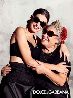 Bianca Balti is all smiles in Dolce & Gabbana's new eyewear advertisements.