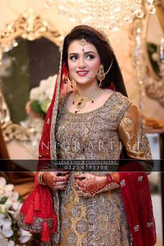 Full Bridal Makeup With Hairstyle : 1000+ ideas about Dulhan Makeup on Pinterest Pakistani ...