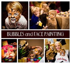 Zoo Party - Bubbles & Face Painting