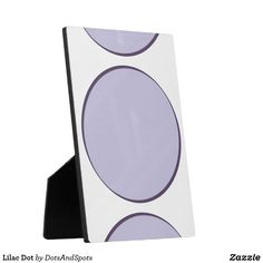 Lilac Dot Plaque