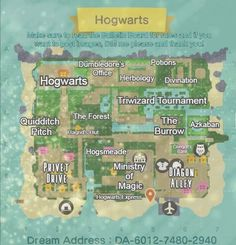 Animal Crossing Wild World, Animal Crossing Guide, Animal Crossing Pocket Camp, Dream Code, New Leaf, My Animal, Hogwarts, The Creator, Harry Potter