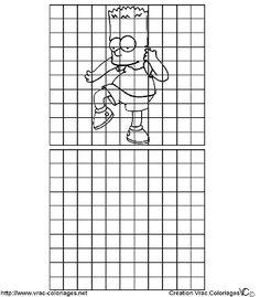 Resultado de imagem para como ampliar imagens dentro de quadriculados?