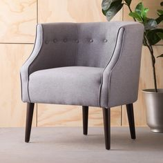 Brandi Fabric Club Chair by Christopher Knight Home