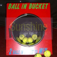 ball in a bucket game - Google Search