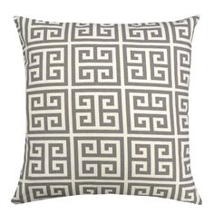 Elisabeth Michael Greek Key Pillow