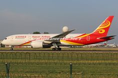 Boeing 787-8 Dreamliner - Hainan Airlines | Aviation Photo #2835873 | Airliners.net Boeing 787 Dreamliner, Boeing 787 8, Hainan Airlines, Beijing, Airplane, Aviation, Aircraft, June, Planes
