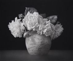 Solace by Paul Emsley . Black chalk and pencil drawing. 54.5 x 65 cm.